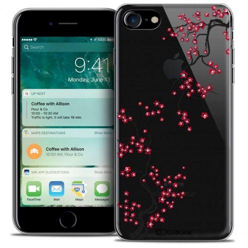 "Coque Crystal Gel Apple iPhone 7 (4.7"") Extra Fine Summer - Sakura"