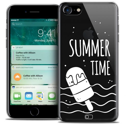 "Coque Crystal Gel Apple iPhone 7 (4.7"") Extra Fine Summer - Summer Time"
