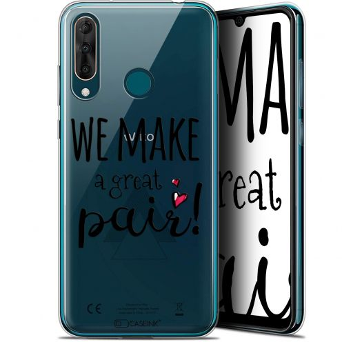 """Coque Gel Wiko View 3 PRO (6.3"""") Extra Fine Love - We Make Great Pair"""