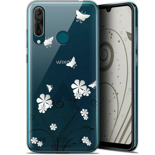 """Coque Gel Wiko View 3 PRO (6.3"""") Extra Fine Summer - Papillons"""
