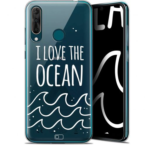 "Coque Gel Wiko View 3 PRO (6.3"") Extra Fine Summer - I Love Ocean"