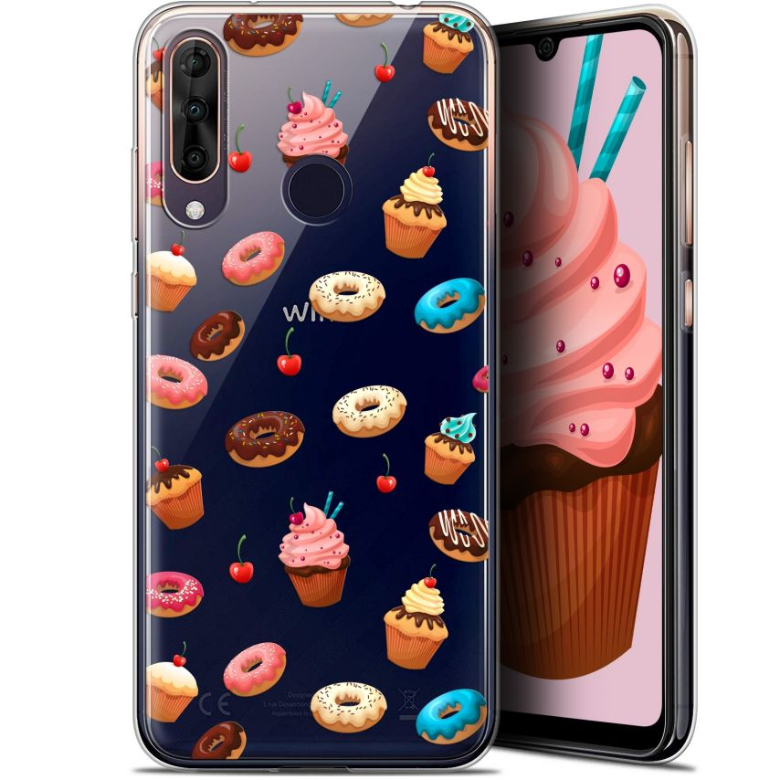 """Coque Gel Wiko View 3 PRO (6.3"""") Extra Fine Foodie - Donuts"""