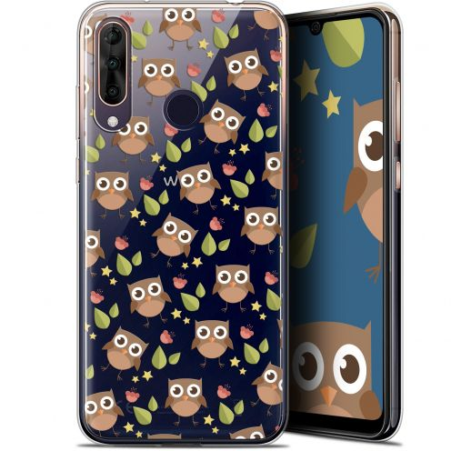 "Coque Gel Wiko View 3 PRO (6.3"") Extra Fine Summer - Hibou"