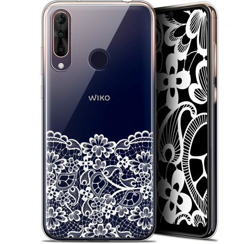"""Coque Gel Wiko View 3 PRO (6.3"""") Extra Fine Spring - Bas dentelle"""