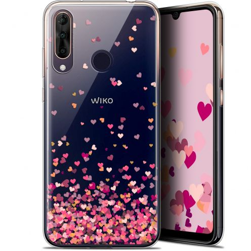"Coque Gel Wiko View 3 PRO (6.3"") Extra Fine Sweetie - Heart Flakes"