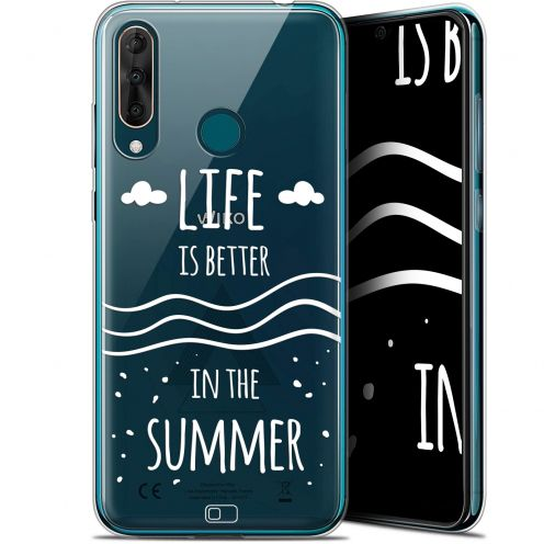"Coque Gel Wiko View 3 PRO (6.3"") Extra Fine Summer - Life's Better"