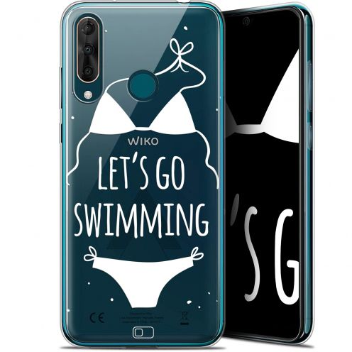 "Coque Gel Wiko View 3 PRO (6.3"") Extra Fine Summer - Let's Go Swim"