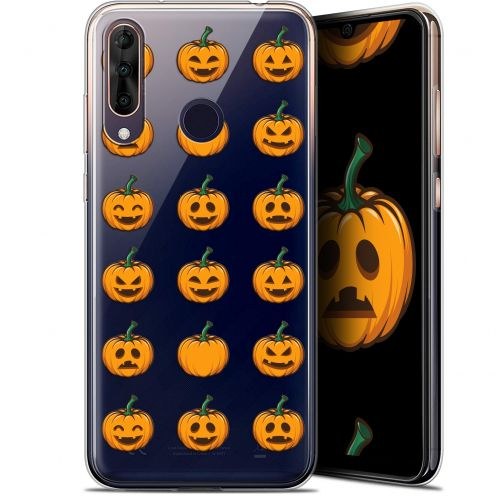 "Coque Gel Wiko View 3 PRO (6.3"") Extra Fine Halloween - Smiley Citrouille"