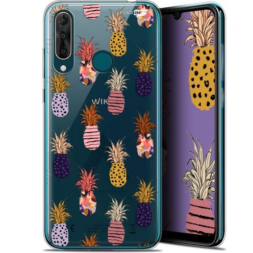 """Coque Gel Wiko View 3 PRO (6.3"""") Extra Fine Motif -  Ananas Gold"""