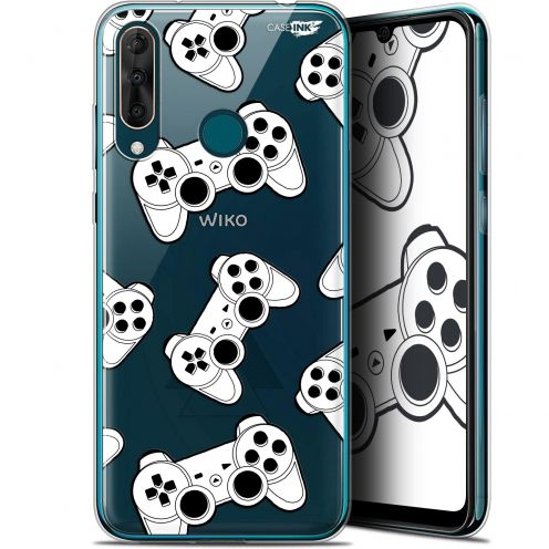 "Coque Gel Wiko View 3 PRO (6.3"") Extra Fine Motif - Game Play Joysticks"