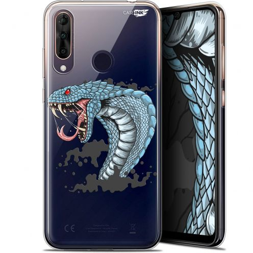 "Coque Gel Wiko View 3 PRO (6.3"") Extra Fine Motif - Cobra Draw"