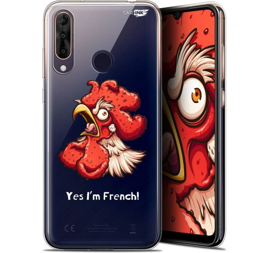 "Coque Gel Wiko View 3 PRO (6.3"") Extra Fine Motif - I'm French Coq"