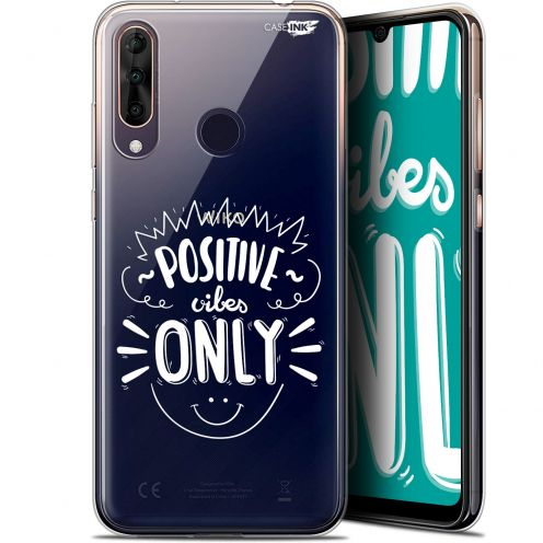 "Coque Gel Wiko View 3 PRO (6.3"") Extra Fine Motif - Positive Vibes Only"