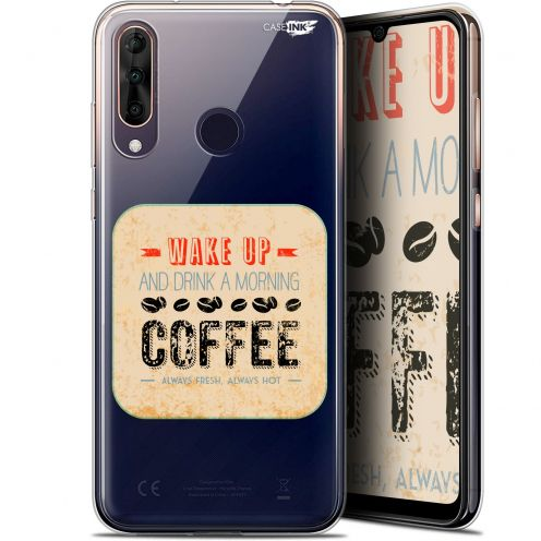 "Coque Gel Wiko View 3 PRO (6.3"") Extra Fine Motif - Wake Up With Coffee"