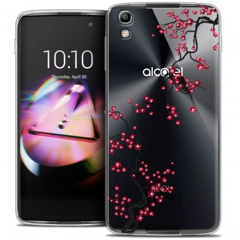 Coque Crystal Gel Alcatel Idol 4 Extra Fine Summer - Sakura