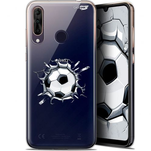 "Coque Gel Wiko View 3 PRO (6.3"") Extra Fine Motif - Le Balon de Foot"