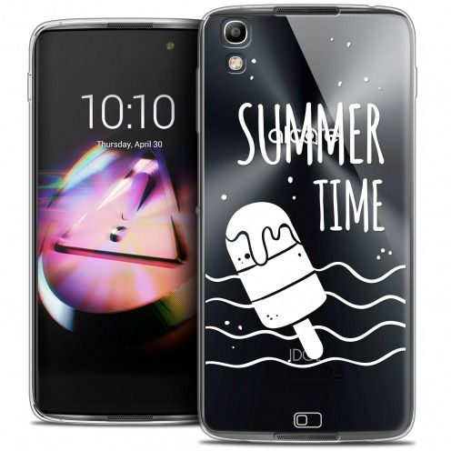 Coque Crystal Gel Alcatel Idol 4 Extra Fine Summer - Summer Time