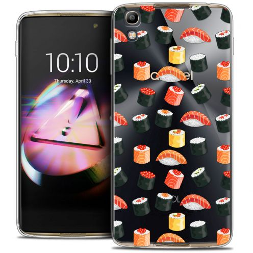Coque Crystal Gel Alcatel Idol 4 Extra Fine Foodie - Sushi