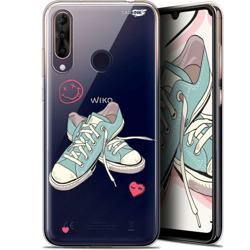 "Coque Gel Wiko View 3 PRO (6.3"") Extra Fine Motif - Mes Sneakers d'Amour"