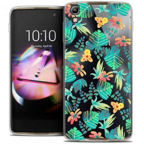 Coque Crystal Gel Alcatel Idol 4 Extra Fine Spring - Tropical