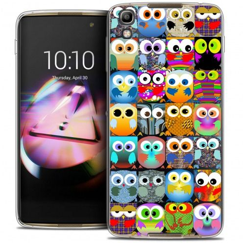 Coque Crystal Gel Alcatel Idol 4 Extra Fine Claude - Hibous