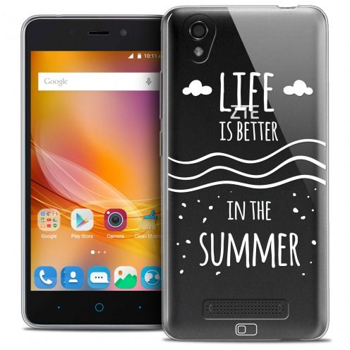 Coque Crystal Gel ZTE A452 Extra Fine Summer - Life's Better