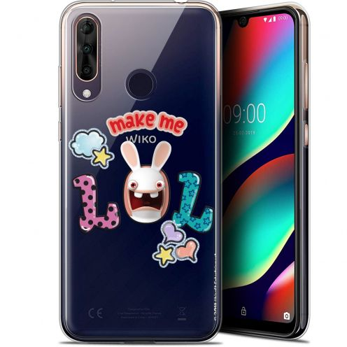 """Coque Gel Wiko View 3 PRO (6.3"""") Extra Fine Lapins Crétins™ - LOL"""