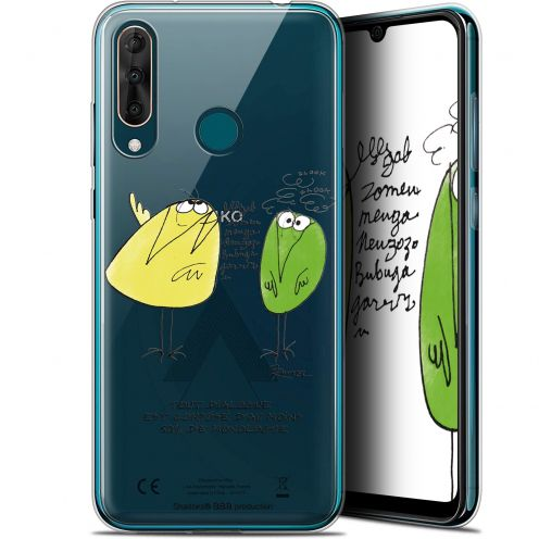 "Coque Gel Wiko View 3 PRO (6.3"") Extra Fine Les Shadoks® - Le Dialogue"