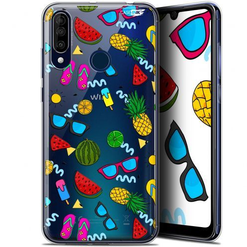 "Coque Gel Wiko View 3 (6.26"") Extra Fine Motif - Summers"