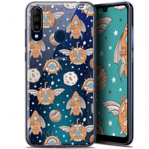 """Coque Gel Wiko View 3 (6.26"""") Extra Fine Motif - Punk Space"""