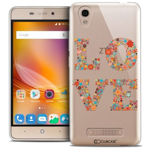 Coque Crystal Gel ZTE A452 Extra Fine Summer - Love Flowers