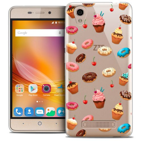 Coque Crystal Gel ZTE A452 Extra Fine Foodie - Donuts