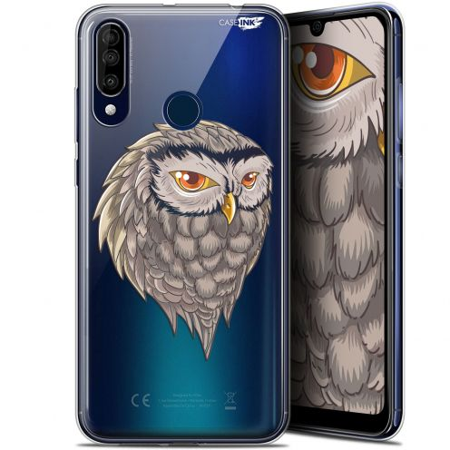 "Coque Gel Wiko View 3 (6.26"") Extra Fine Motif - Hibou Draw"