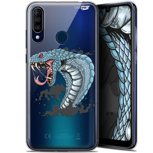 "Coque Gel Wiko View 3 (6.26"") Extra Fine Motif - Cobra Draw"