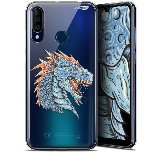 "Coque Gel Wiko View 3 (6.26"") Extra Fine Motif - Dragon Draw"