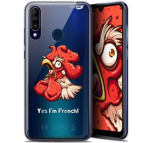 "Coque Gel Wiko View 3 (6.26"") Extra Fine Motif - I'm French Coq"