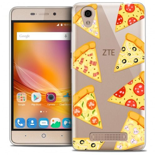 Coque Crystal Gel ZTE A452 Extra Fine Foodie - Pizza