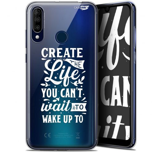 """Coque Gel Wiko View 3 (6.26"""") Extra Fine Motif -  Wake Up Your Life"""