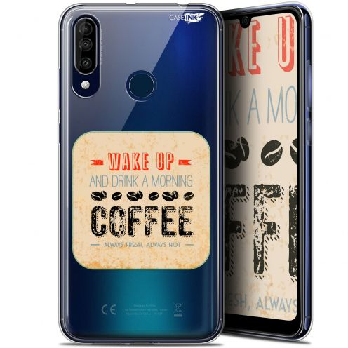 "Coque Gel Wiko View 3 (6.26"") Extra Fine Motif - Wake Up With Coffee"