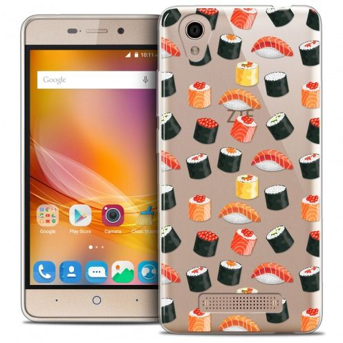 Coque Crystal Gel ZTE A452 Extra Fine Foodie - Sushi