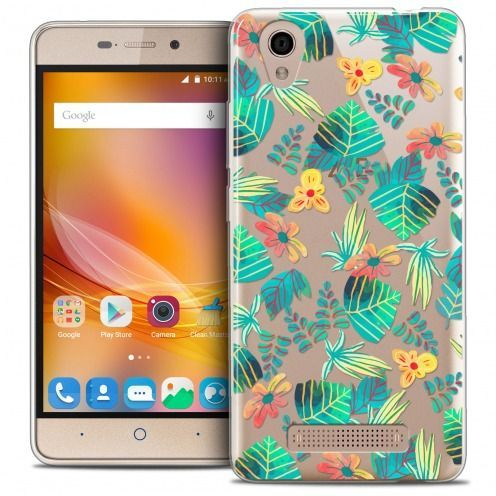 Coque Crystal Gel ZTE A452 Extra Fine Spring - Tropical