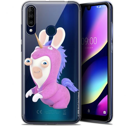 "Coque Gel Wiko View 3 (6.26"") Extra Fine Lapins Crétins™ - Licorne"