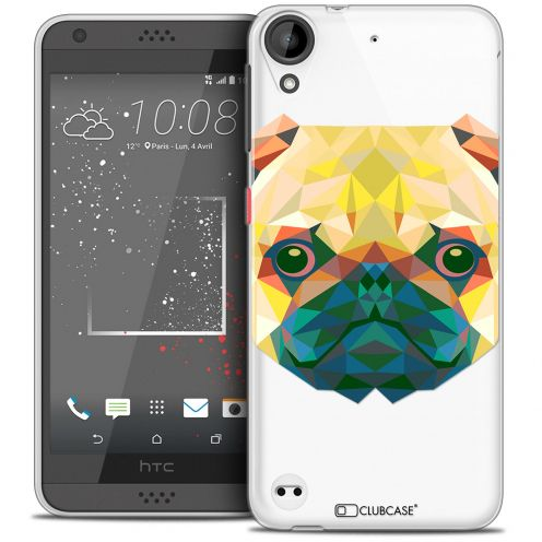 Coque Crystal Gel HTC Desire 530/630 Extra Fine Polygon Animals - Chien