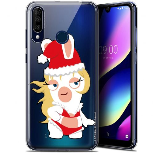 "Coque Gel Wiko View 3 (6.26"") Extra Fine Lapins Crétins™ - Lapin Danseuse"
