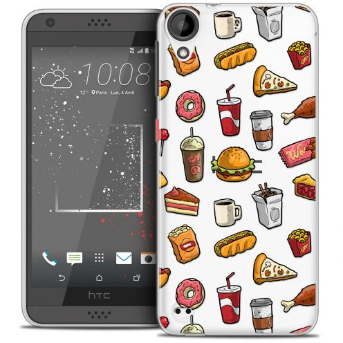 Coque Crystal Gel HTC Desire 530/630 Extra Fine Foodie - Fast Food