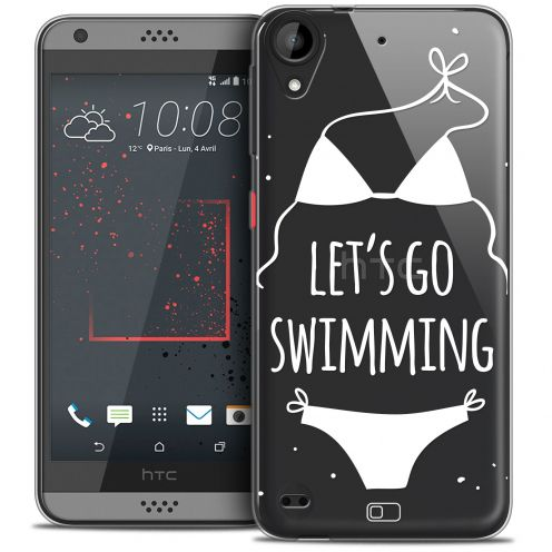 Coque Crystal Gel HTC Desire 530/630 Extra Fine Summer - Let's Go Swim