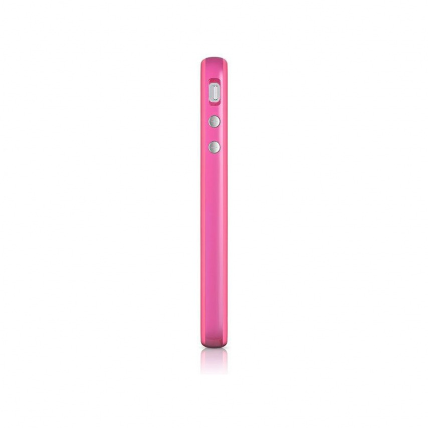 Photo réelle de Coque Bumper iPhone 5 - 5S HQ Rose
