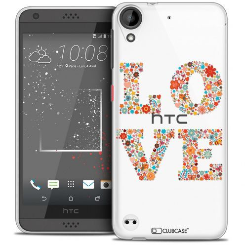 Coque Crystal Gel HTC Desire 530/630 Extra Fine Summer - Love Flowers