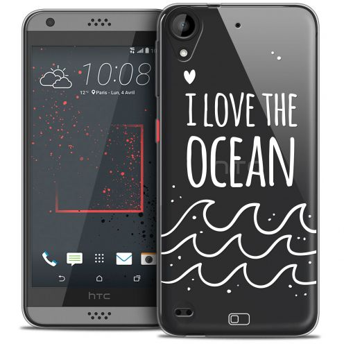 Coque Crystal Gel HTC Desire 530/630 Extra Fine Summer - I Love Ocean
