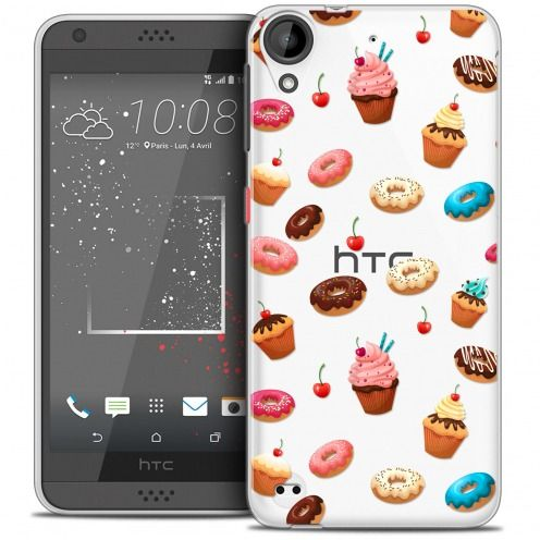 Coque Crystal Gel HTC Desire 530/630 Extra Fine Foodie - Donuts